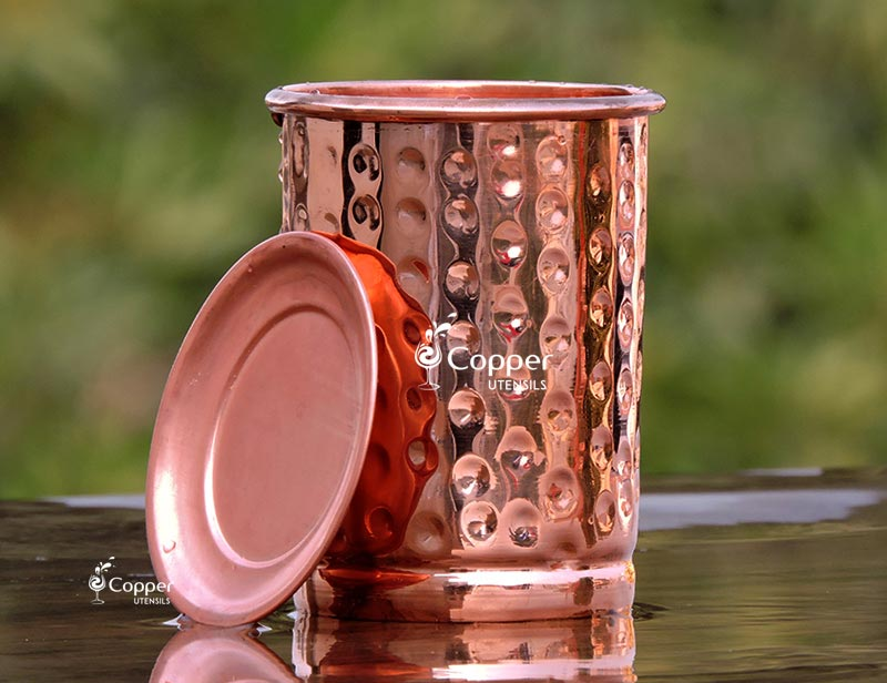 COPPER GLASS AND CUPS