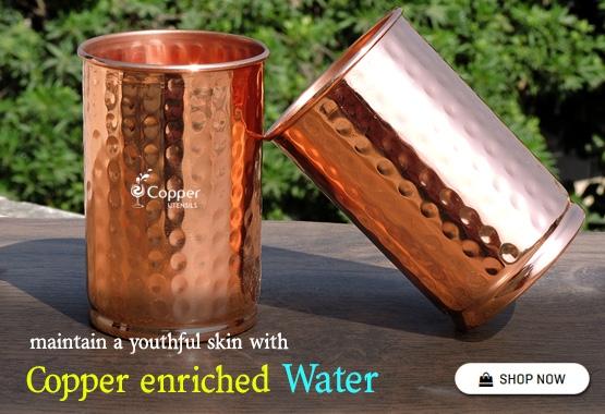 Pure Copper Glass