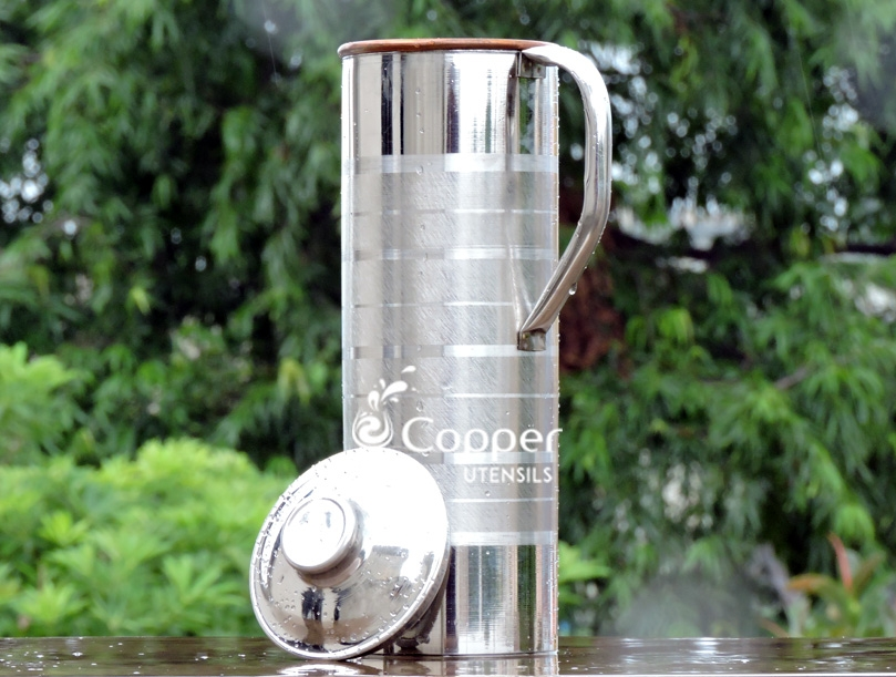 how to clean copper water bottle