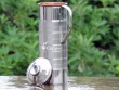 Fridge Bottle with Inner Copper Lining and Stainless Steel Outer Finish Bottle with Benefits of Copper Charged Water