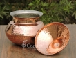 Handmade Copper Biriyani Handi with Lid