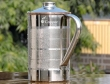 Jug Copper Inside and Outside Stainless Steel for Water Storage