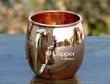 Pure Copper Moscow Mule Plain Mug