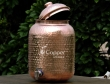 Pure copper nine liters water dispenser with stainless steel tap