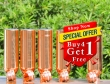 Set of Four Pure Copper Water Bottles-Get FREE 1000 ml Water Bottle with this Set
