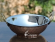 Copper Hammered Mughlai Kadhai