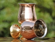 Copper Plated Stainless Steel Wine Glass Set