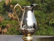 Pure Silver Mughlai Style Jug for Water Storage and Serving Water at Parties