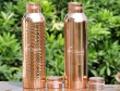 Set of Pure Copper Bottles 1000 ML