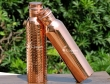 Set of Pure Copper Water Bottles 600 ML