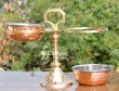 Brass and copper pickle Stand for Dining Table