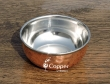 High Quality Copper Bowl with Steel Inner For Serving at Restaurant Hotel  and as Gift Item