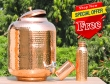 Pure Copper Fifteen Liters Water Dispenser-FREE Copper Water Bottle with Copper Tumbler