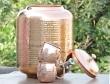 Pure Copper Sixteen Liter Water Dispenser-Get Free Set of 2 Copper Mug