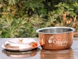 Pure Copper and Stainless Steel Casserole Pot with Lid for Serving