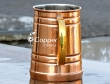 Stainless Steel Copper Plated Tankard Moscow Mule Mug