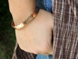 Copper Magnetic Bracelet to Treat Arthritis
