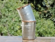 Copper and Stainless Steel Tumbler Set of Two