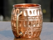 Hammered Pure Copper Barrel Moscow Mule Mug
