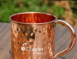Hand Beaten Pure Copper Mug