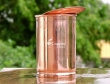 Plain Copper Tumbler with Lid for Storing and Drinking Water for Benefits of Ayurveda