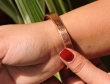 Pure Copper Designer Magnetic Bracelet with Six Magnets