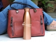 Copper Seamless Matte Finish Bisleri Bottle