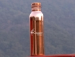 Especially Designed Handmade Indian Copper Water Bottle with Leak Proof Cap