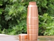 Copper Seamless Matte Finish Barrel Bottle