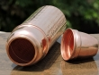 Pure Copper Hammered Thermos Bottle