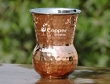 Mughlai Style Hammered Copper and Steel Tumbler