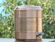 Pure Copper 14 Liter Water Dispenser With Stand