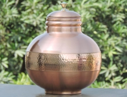 7 Liters Pure Copper Pitcher Matka
