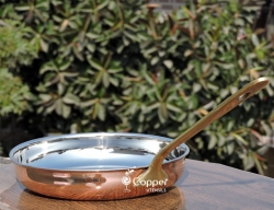 Copper Outer Frying Pan for Making Cooking a Delight and Saving F