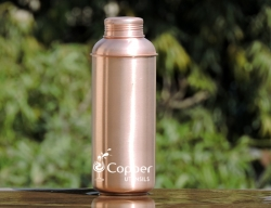 Copper Fanta Bottle Matte Finish