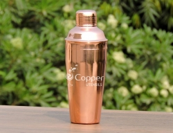 Copper Plated Cocktail Shaker