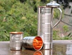 Fridge Bottle with Glass