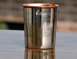 Hand designed Copper Tumbler for Drinking Tamara Jal for a Health