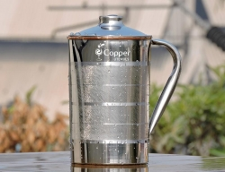 Jug Copper Inside and Outside
