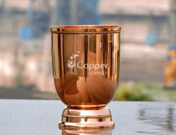 Mint Julep Mug Made of Pure Copper by Skilled Craftsmen in India
