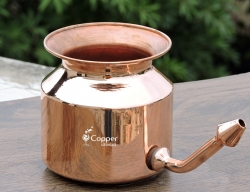 Pure Copper Neti Pot for Nasal Cleansing