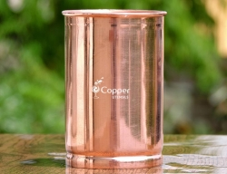 Pure Copper Tumbler for Drinking Water for Ayurveda Health Benefi
