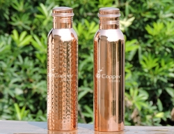 Set of Pure Copper Bottles 100