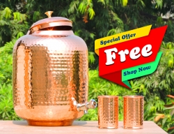 Twelve Liter Pure Copper Water Dispenser