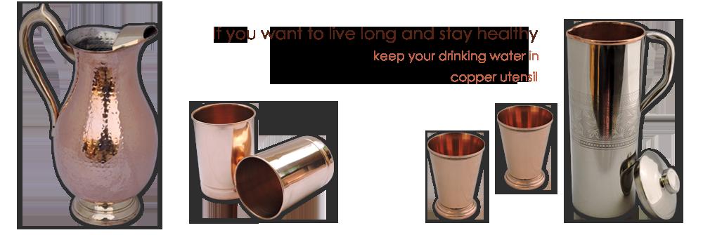 Copper Water Jugs