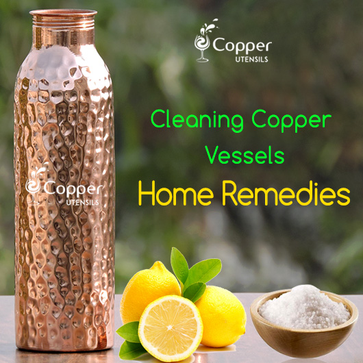 Cleaning Copper Vessels Home Remedies Copper Utensil