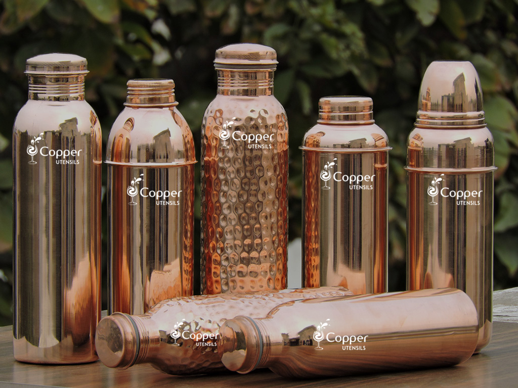How to Drink Copper Water the Correct Way and Benefit from it with Copper Water Bottle