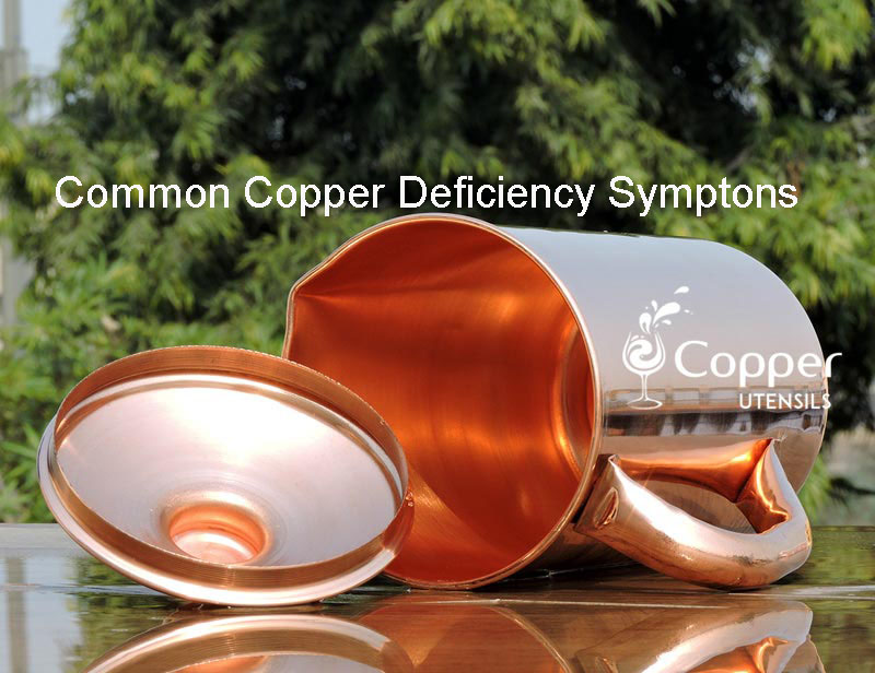 Common Copper Deficiency Symptoms you Need to Watch Out For