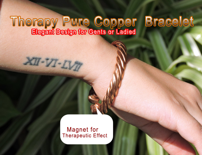 Copper Bracelet and Its Uses