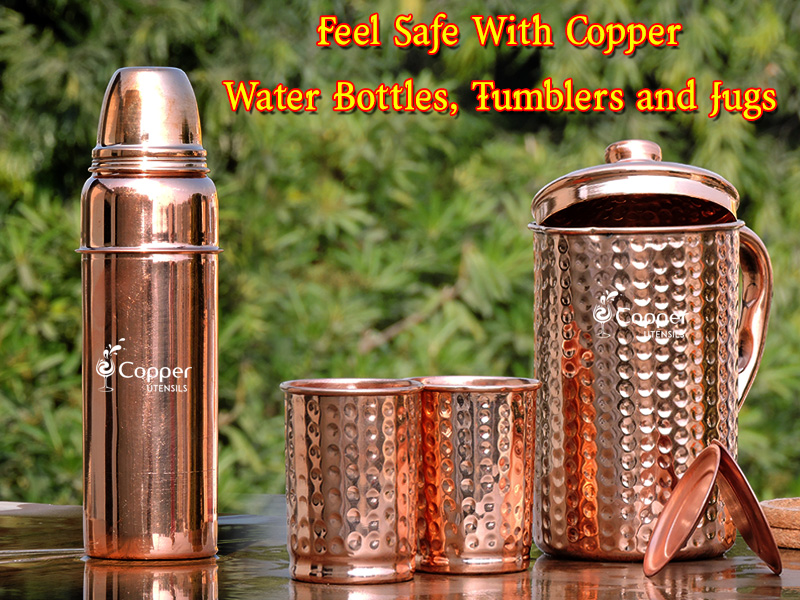 You Get all These Benefits When You Start Drinking from Copper Vessels